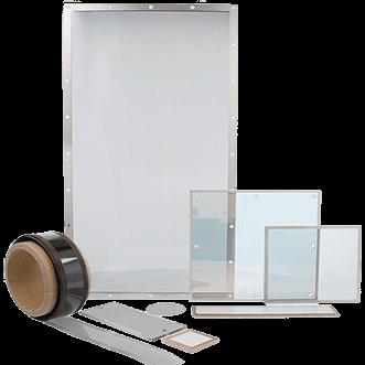 Ikkunat, näytöt ja läpinäkyvä arkkia