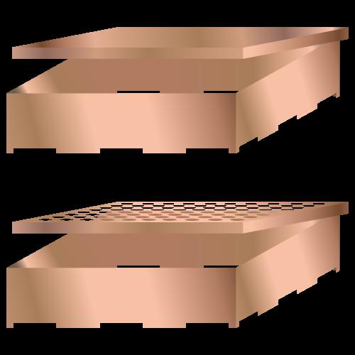 Kiinteät PCB-suojapullot, joissa on irrotettava kansi