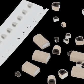 1560 - johtavaa kumia PCB koteloinnin gaksets