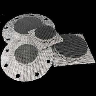 Kehyksetön Honeycomb tuuletusaukot