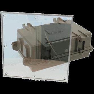 9910 - Läpinäkyvä EMI / RFI-suojauksen folio ikkunat