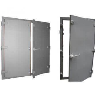 EMI / RFI-suojattu Faradayn häkki ovet