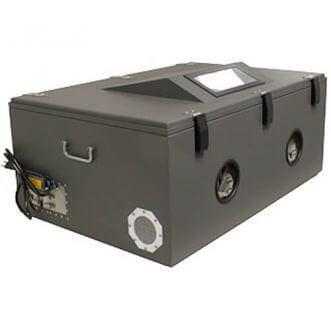 RF-suojattu testi laatikko